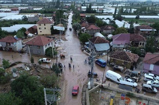 Antalya Elmalı sel felaketi