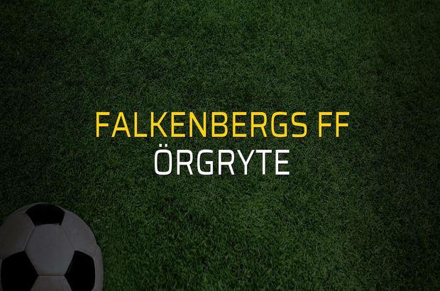 Falkenbergs FF - Örgryte maçı heyecanı