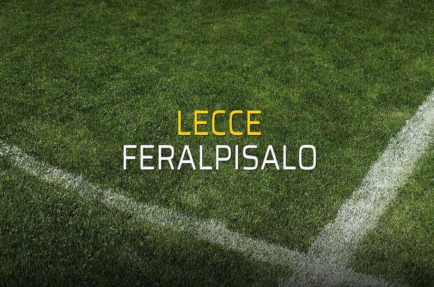 Lecce - Feralpisalo düellosu