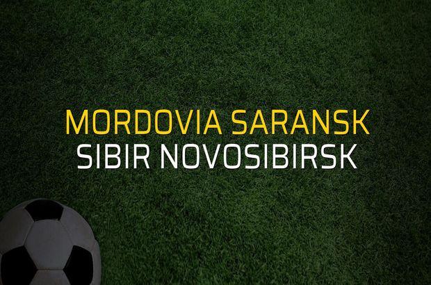 Mordovia Saransk - Sibir Novosibirsk maçı ne zaman?