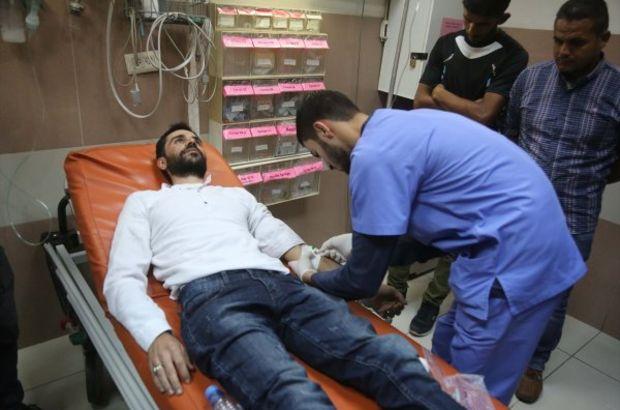 Açlık grevindeki Filistinli