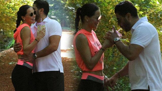 Ebru Şallı ile nişanlısı Uğur Akkuş romantizmin doruğunda - Magazin haberleri