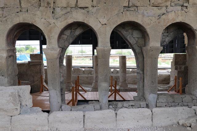 Andaval Kilisesi'nin 22 yıldır devam eden restorasyonda sona gelindi