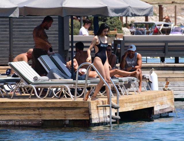 Şilan Makal tatil sezonunu Bodrum'da açtı