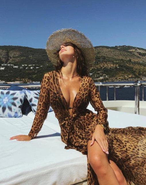 Camila Morrone sosyal medyayı sallıyor - Magazin haberleri