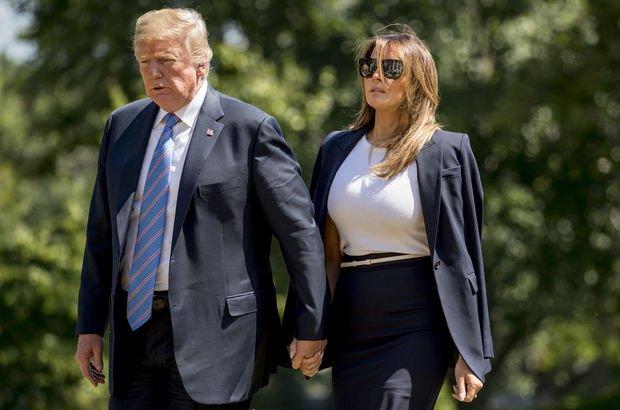 Melania Trumpın göçmen anne ve babası ABD vatandaşı oldu