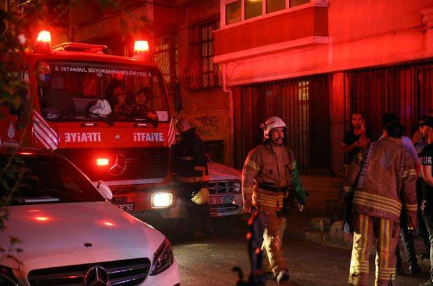 İstanbul Fatih  yangın