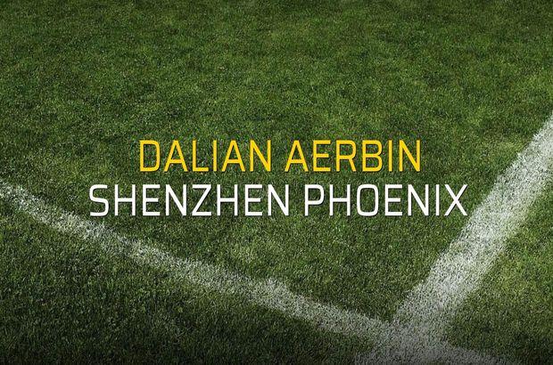 Dalian Aerbin - Shenzhen Phoenix maçı heyecanı