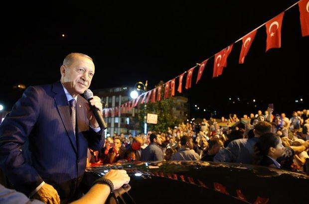 Cumhurbaşkanı Recep Tayyip Erdoğan son dakika