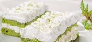 Kremalı ıspanaklı kek nasıl yapılır? Nefis ıspanaklı kek tarifi