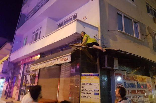 Mahalle sakinleri yardım çağırdı
