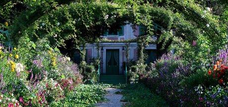 O resimlere ilham olan bahçe burasıydı!