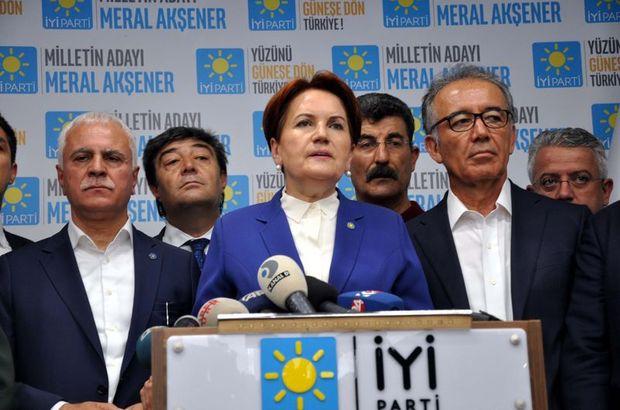 Akşener: Hükümetin yanındayız!