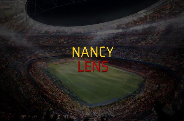 Nancy - Lens maçı öncesi rakamlar