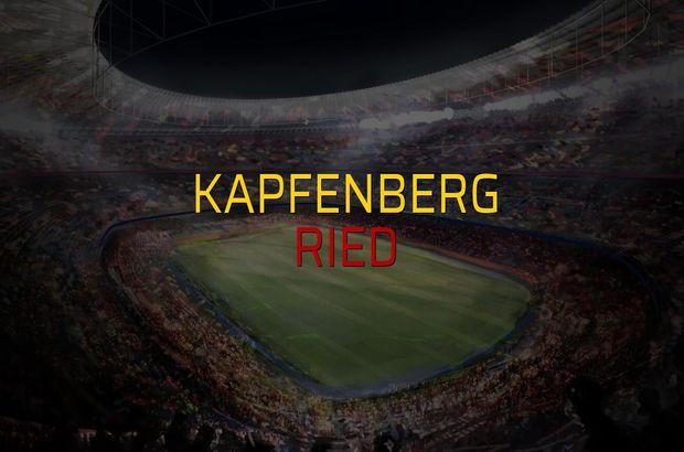 Kapfenberg - Ried düellosu