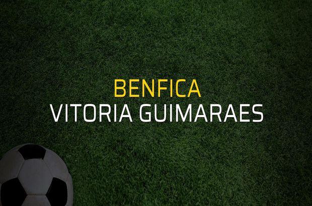 Benfica - Vitoria Guimaraes maçı rakamları