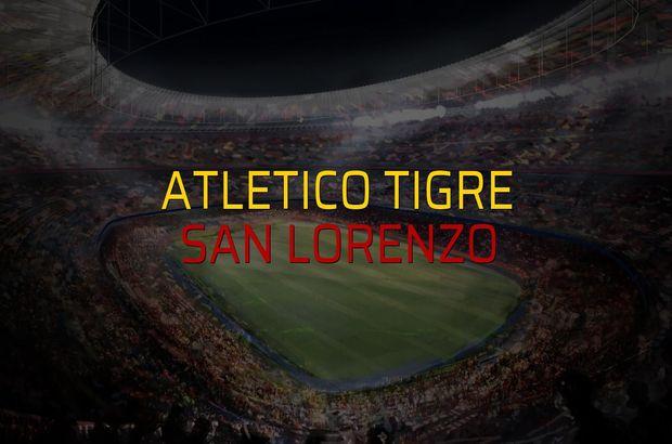 Atletico Tigre - San Lorenzo maç önü