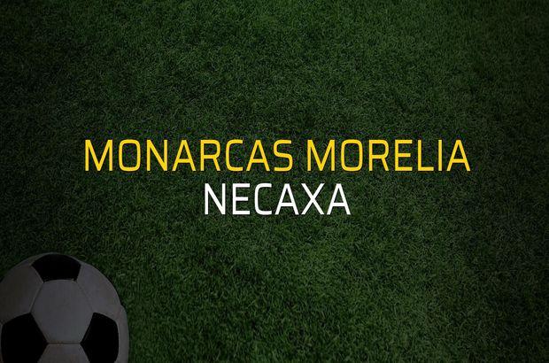 Monarcas Morelia - Necaxa maçı rakamları
