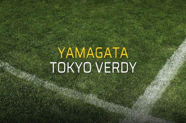 Yamagata - Tokyo Verdy maçı istatistikleri