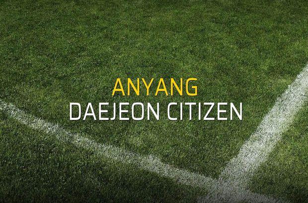 Anyang - Daejeon Citizen maçı heyecanı