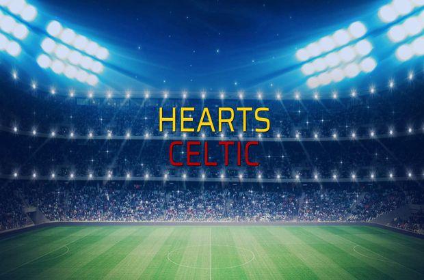 Hearts - Celtic maçı öncesi rakamlar