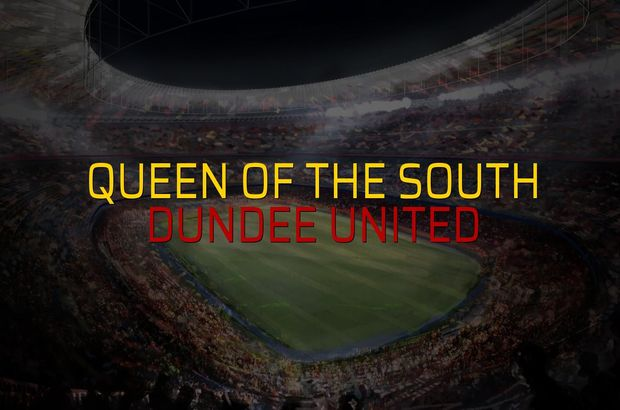 Queen of the South - Dundee United maçı heyecanı