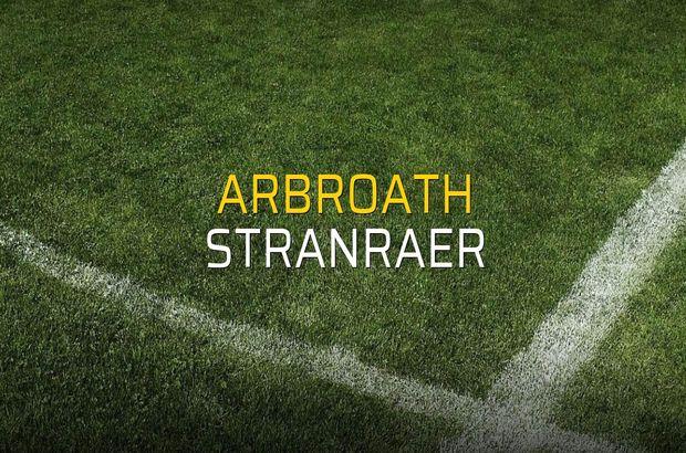 Arbroath - Stranraer sahaya çıkıyor