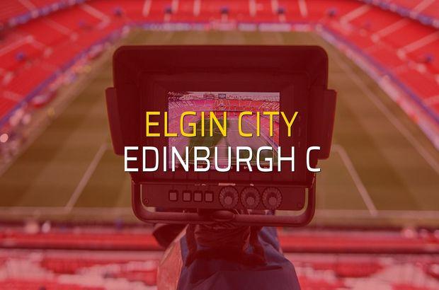 Elgin City - Edinburgh C maçı ne zaman?