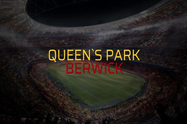 Queen`s Park - Berwick maçı ne zaman?