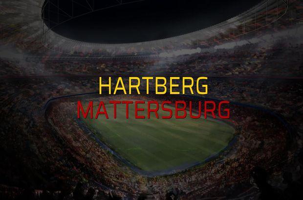 Hartberg - Mattersburg maç önü