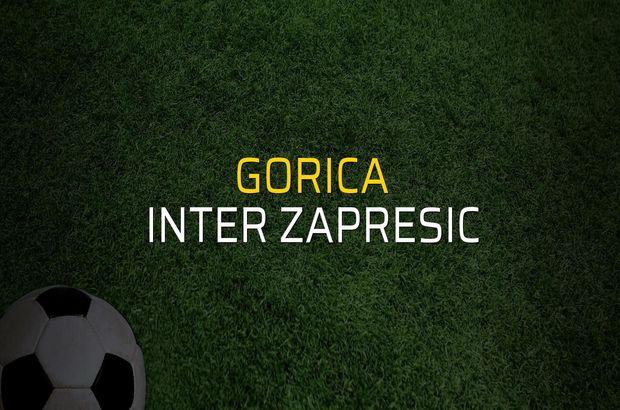 Gorica - Inter Zapresic düellosu