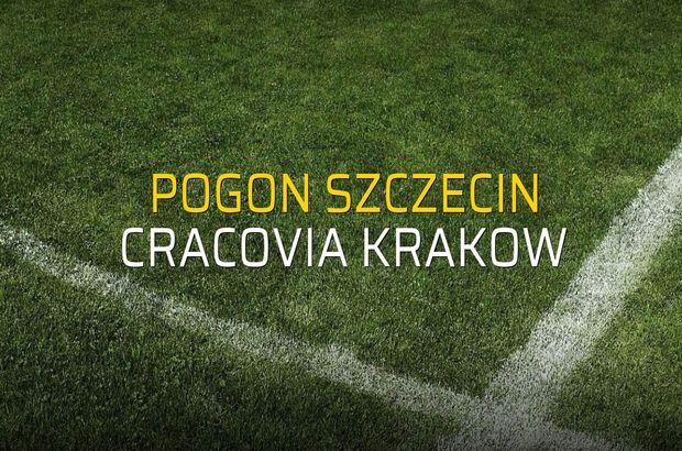Pogon Szczecin - Cracovia Krakow sahaya çıkıyor