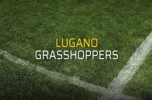 Lugano - Grasshoppers maçı istatistikleri