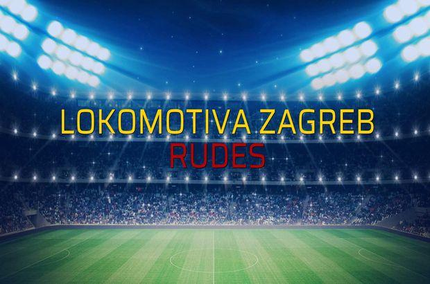 Lokomotiva Zagreb - Rudes sahaya çıkıyor