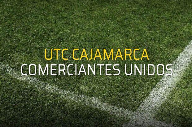 UTC Cajamarca - Comerciantes Unidos maçı heyecanı