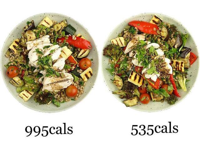 Aynı yemeği daha düşük kalori ile hazırlamanın ip uçlarını veriyor! İşte daha düşük kalorili tariflerle hazırlanmış yiyecekler!