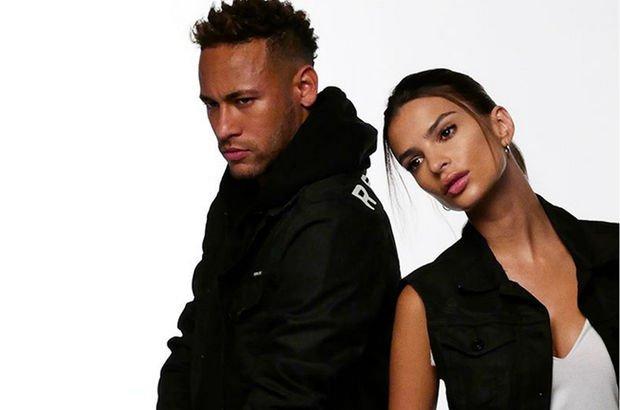 Emily ile Neymar aynı karede