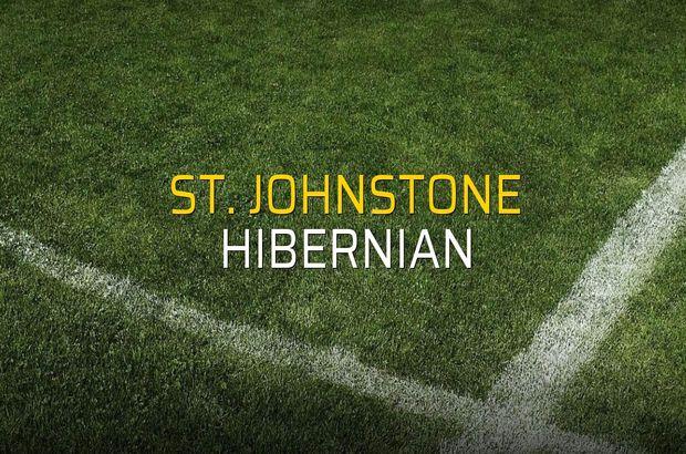 St. Johnstone - Hibernian maçı heyecanı