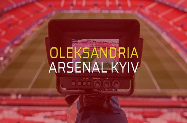 Oleksandria - Arsenal Kyiv düellosu