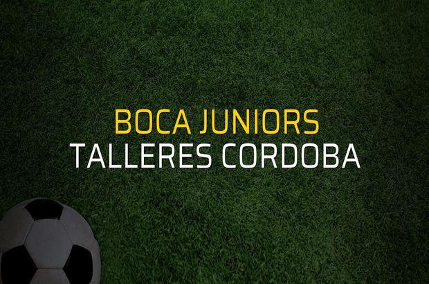 Boca Juniors - Talleres Cordoba karşılaşma önü