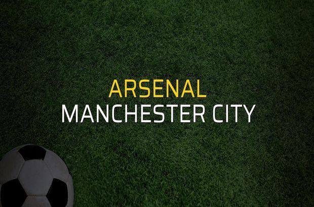 Arsenal - Manchester City maçı istatistikleri
