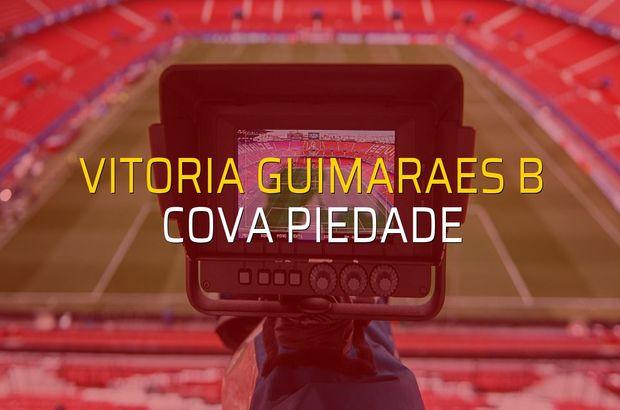 Vitoria Guimaraes B - Cova Piedade rakamlar