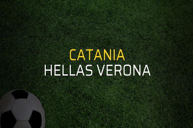 Catania - Hellas Verona maçı ne zaman?