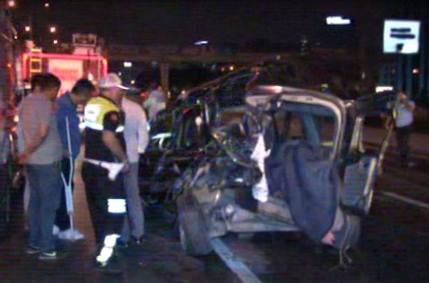 D-100 karayolu trafik kazası