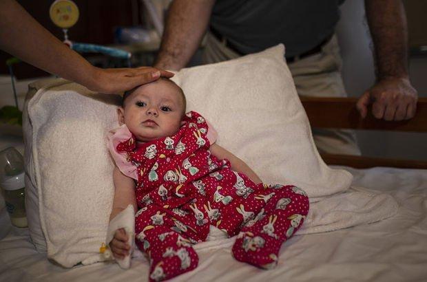5.5 aylık Selin Deniz, minik kalbiyle mucizeye imza attı