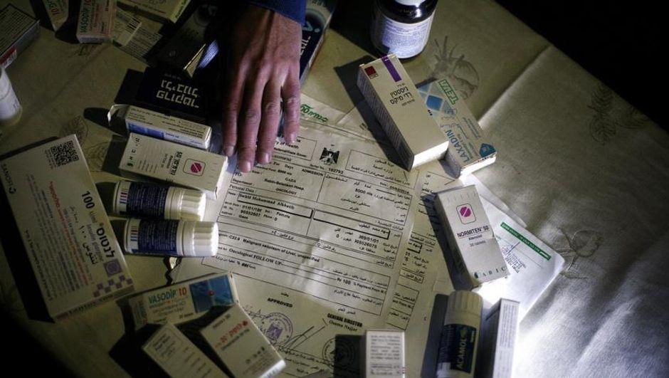 Gazze'de kanser hastaları ilaç krizinde!