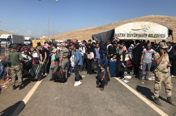 30 bin Suriyeli ülkesine geçti