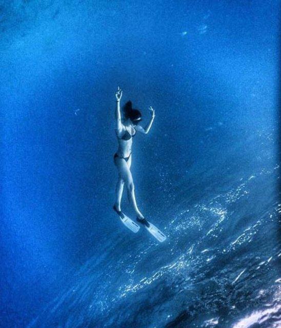 Tuvana Türkay'ın hedefi okyanusa dalmak - Magazin haberleri
