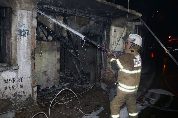 İzmir yangın