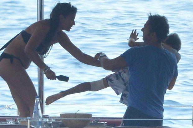 Ünlü şarkıcının teknesinde çocuğa şiddet!